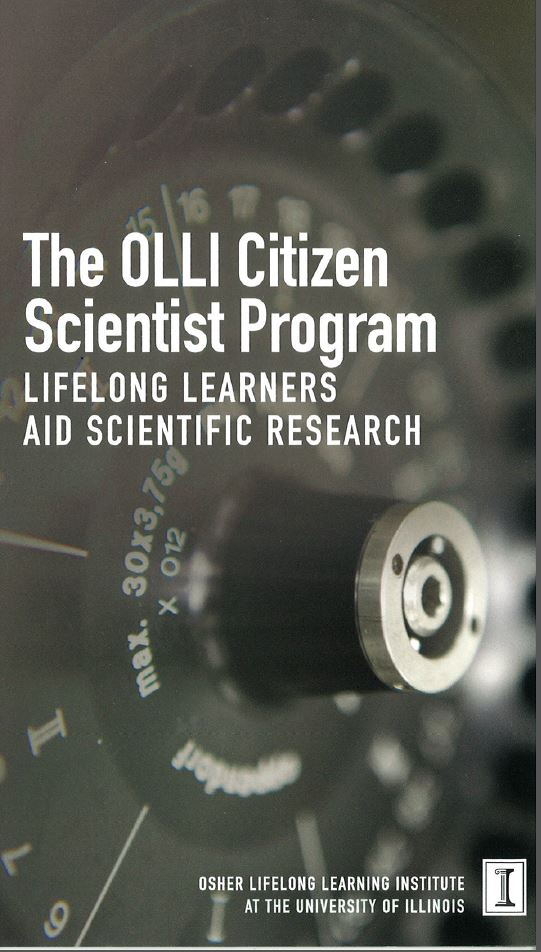 OLLI Citizen Scientist Program brochure cover